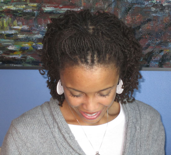 ... Hair Blog » Blog Archive » Day 20: Loc and Roll Hair Style