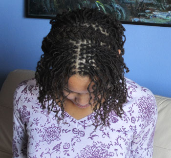 french braid locs